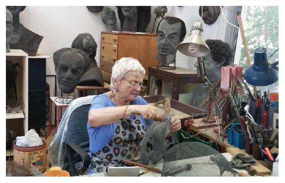 חנה דיין בסטודיו