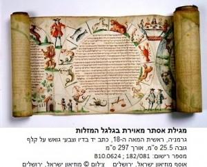 גלגל המזלות במגילה - עותק (2) - עותק