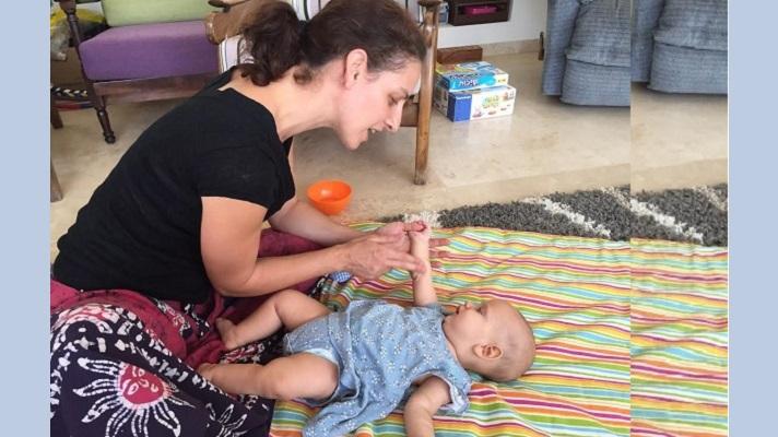 עיסוי לתינוקת - עותק