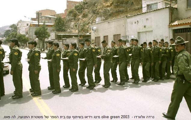 Narda Alvarado - olive green 2003