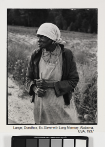 Lange, Dorothea, Ex-Slave with Long Memory, Alabama, USA,_ 1937 _B87_0433_5295 (1) (1) - עותק